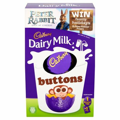 CADBURY BUTTONS EGG 128G