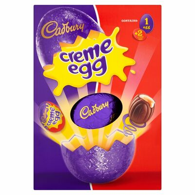 CADBURY CREME EGG LARGE 278G