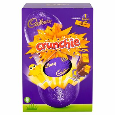 CADBURY CRUNCHIE EGG LARGE 278G