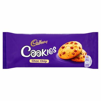 Cadbury Chocolate Chip Cookies 135g