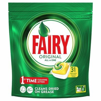 Fairy All In One Lemon 31pce