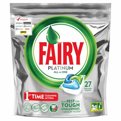 Fairy Platinum Original 27 Pack 27pce