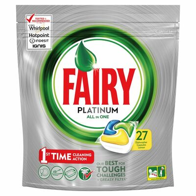 Fairy Platinum Lemon 27pce