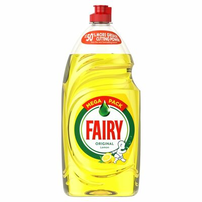 Fairy Washing Up Liquid Lemon 1.01ltr