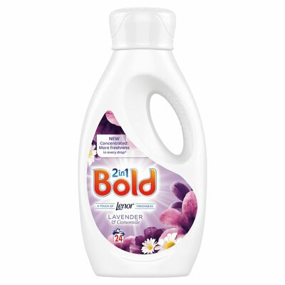 Bold 2In1 Liquid Lav & Cam 24 Wash 840ml