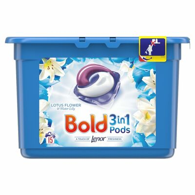 Bold 2in1 Lotus & Lily Pods 15pce