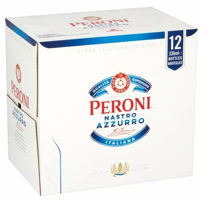 Peroni Nastro Azzurro Can Pack 12 x 330ml