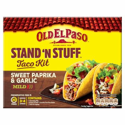 Old El Paso Stand 'N' Stuff Taco Kit 312g
