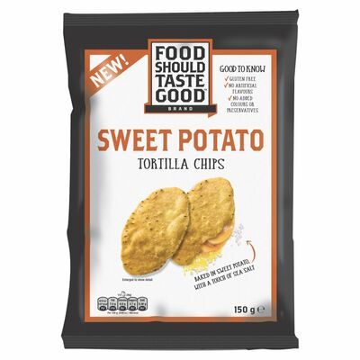 Old El Paso Food Should Taste Good Sweet Potato Tortilla Chips 150g