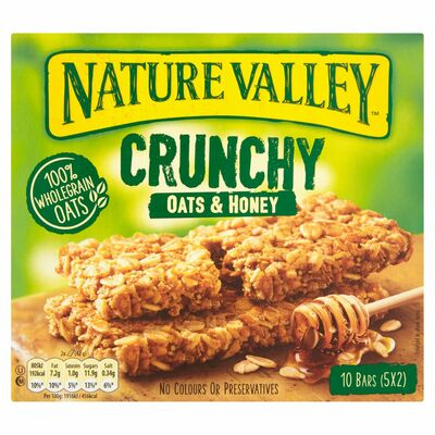 Nature Valley Oats & Honey 5 Pack 210g