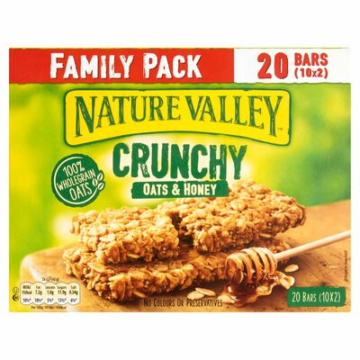 Nature Valley Oats & Honey Family Pack 420g