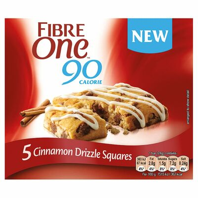 Fibre One Chocolate Cinnamon Drizzle Cake 120g
