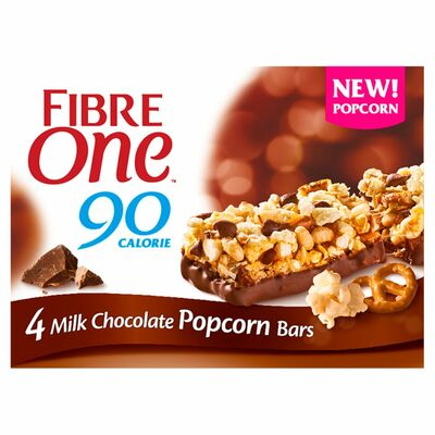 Fibre One Popcorn Chocolate & Pretzel Bar 84g