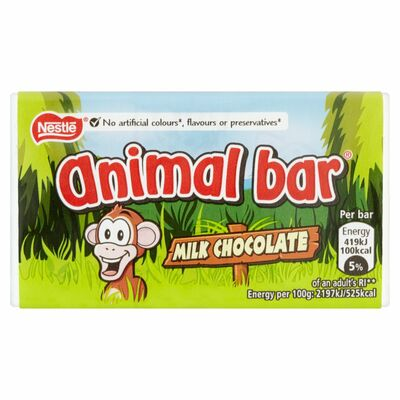 Nestlé Animal Bar Chocolate 19g