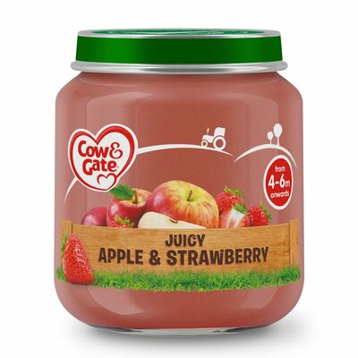 Cow & Gate Apple & Strawberry 125g