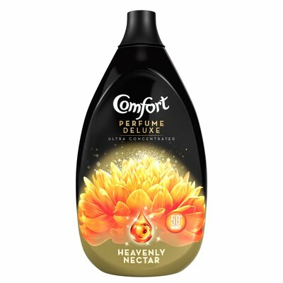 Comfort Fabric Conditioner Perfume Deluxe Heavenly Nectar 58 Wash 870ml