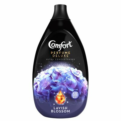 Comfort Fabric Conditioner Lavish Blossom 58 Wash 870ml