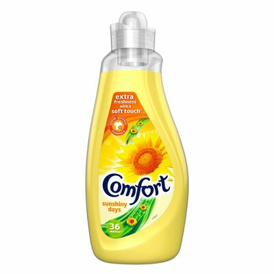 Comfort Fabric Conditioner Sunfresh 36 Wash 1.26ltr