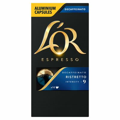 L'Or Ristretto Decaffeinato Intensity 52g