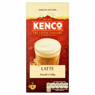 Kenco Latte Coffee 8 Sachets 158g