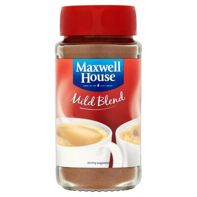 Maxwell House Coffee Mild Blend 100g