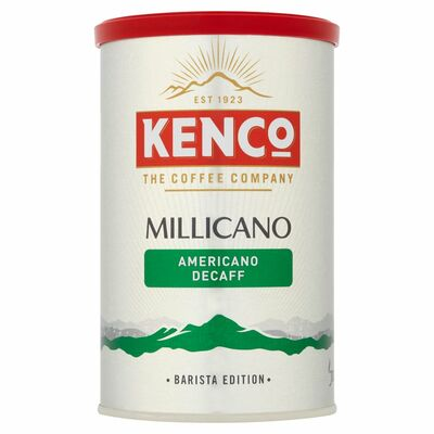 Kenco Millicano Americano Decaf Coffee 100g