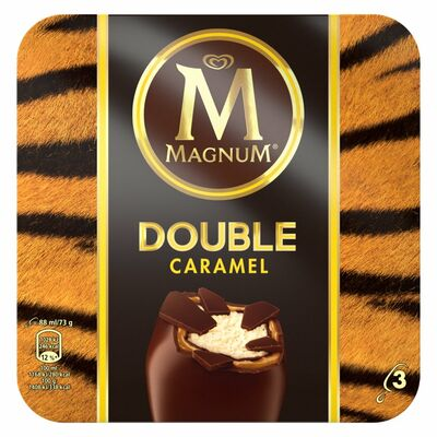 Magnum Double Caramel 3 Pack 264ml