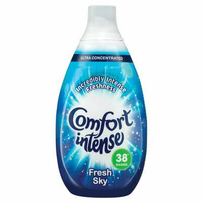 Comfort Intense Fabric Conditioner 38 Wash Sky 570ml