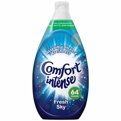Comfort Intense Fresh Skies Fabric Conditioner 64 Wash 960ml