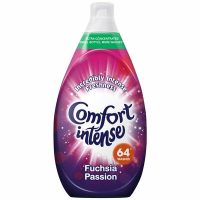 Comfort Intense Fuchsia Passion Fabric Conditioner 64 Wash 960ml