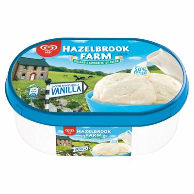 HB Vanilla Tub 900ml