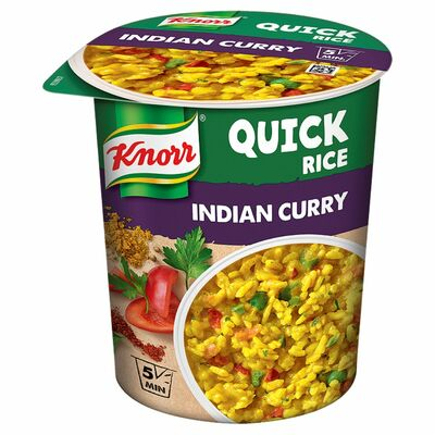 Knorr Quick Lunch Curry Rice 87g