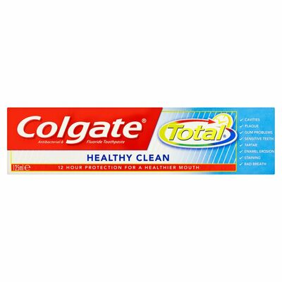 Colgate Toothpaste Total Advanced Clean 125ml