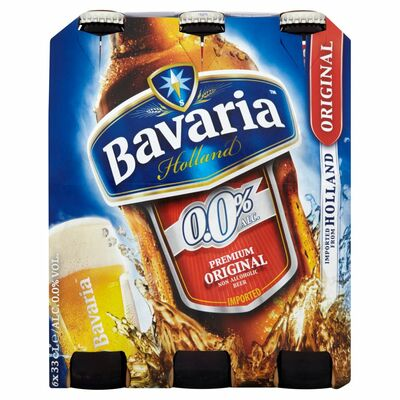 Bavaria 0% Non Alcoholic 6 Pack 330ml