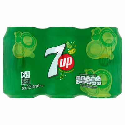 7up Can Pack 6 x 330ml