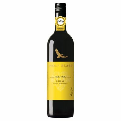 Wolf Blass Yellow Label Shiraz 75cl
