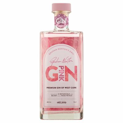 GRAHAM NORTON'S PINK GIN 70CL