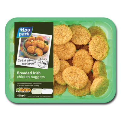 MOY PARK BREADED CHICKEN NUGGETS PR 425 GRM