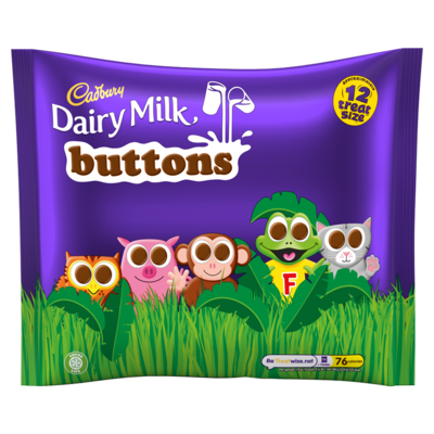 CADBURY BUTTON TREATSIZE 170G