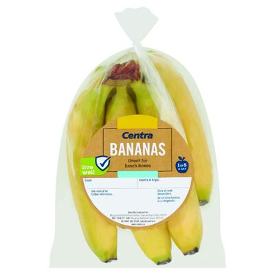 CENTRA SNACK PACK BANANAS