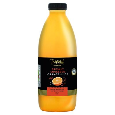 INSPIRED BY CENTRA FRESHLY SQUEEZED ORANGE JUICE 1LTR