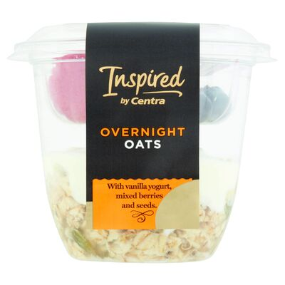 Inspired By Centra Overnight Oats With Berries 160g