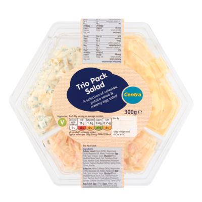 Centra Trio Pack Salad 300g