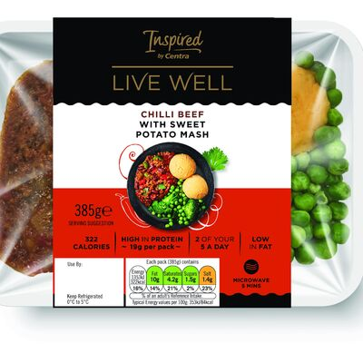 Inspired by Centra Chilli Beef & Sweet Potato 385g