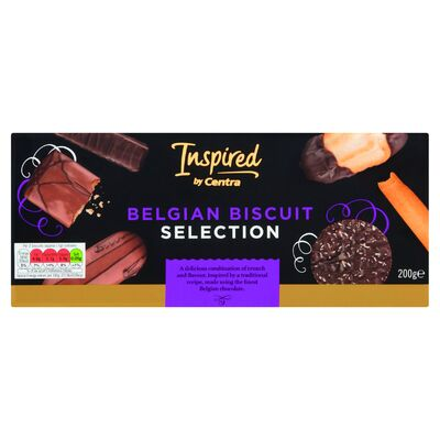 Inspired by Centra Luxury Belgian Biscuit Selection 200g