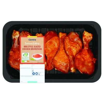 CENTRA FRESH IRISH BBQ DRUMSTICKS 600G