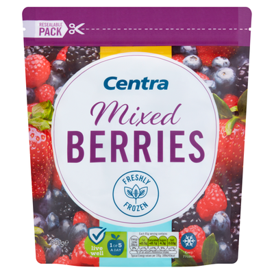 Centra Mixed Berries 340g