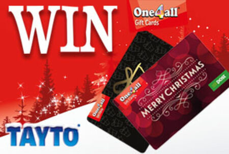 Win one of four €250 One4All vouchers with Tayto this Christmas