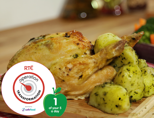 Roast basil chicken520x400