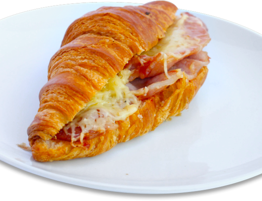 Bacon Cheese and Ballymaloe Croissant